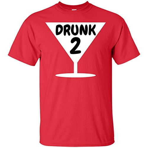 Thing One Thing Two Halloween Costumes (Funny Drunk 2, Thing 1, Thing 2 Halloween Costume Ultra Cotton T-Shirt)