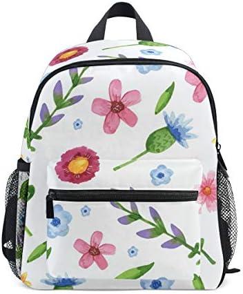 リュック 子供用 花柄 きれい かわい キッズ デイパック 大容量 軽量 通園 保育園 3-8歳 遠足 リュックサック 女の子 男の子 旅 プレゼント