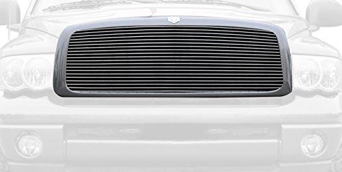orizontal Aluminum Polished Finish Billet Grille Insert for Dodge Ram PickUp (Pickup Polished Billet Insert)