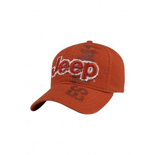 Jeep 3D Orange Cap