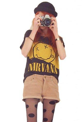 Buy nirvana t shirt dress - 1