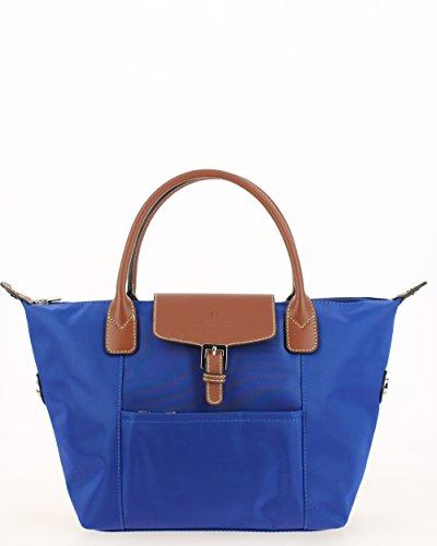 Hexagona, Borsa a mano donna blu blu