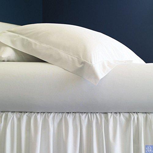 Sferra Celeste Luxury Bedding - Celeste Linens by SFERRA, King Fitted Sheet, White