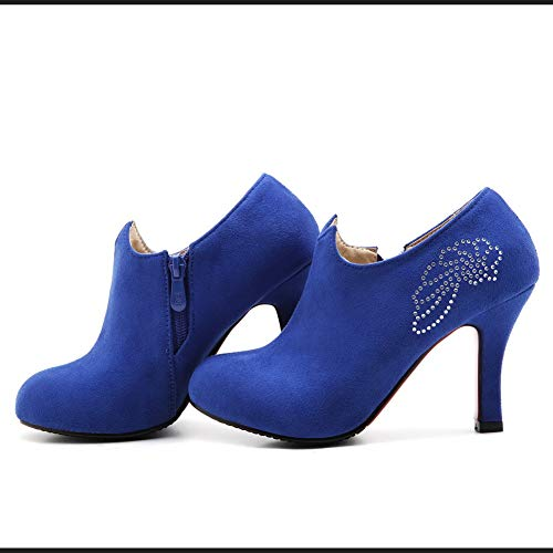 5 Femme Bleu Sandales Bleu BalaMasa Compensées EU 36 APL10516 q0TBPP