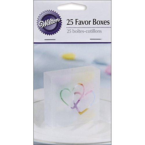 Wilton 10064472 Two Hearts Acetate Box, 25-Pack, (Wilton Napkins)