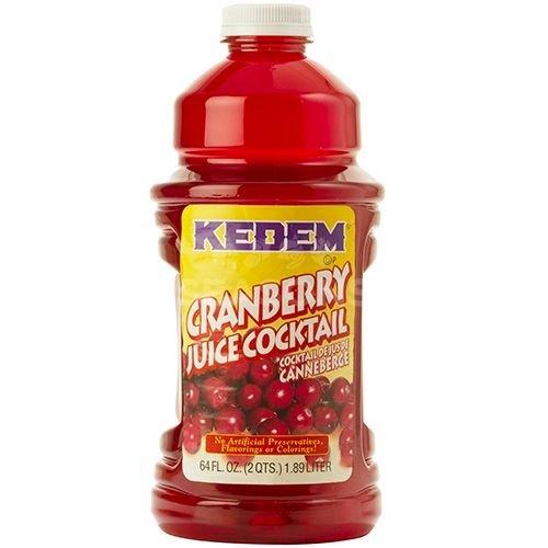 Kedem Pure Kosher Cranberry Juice, 64 Fluid Ounce ()