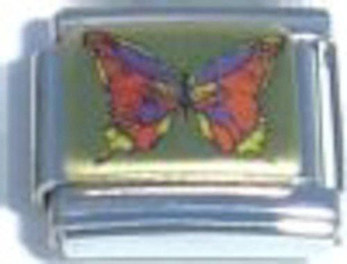 Butterfly Picture Italian Charm ()