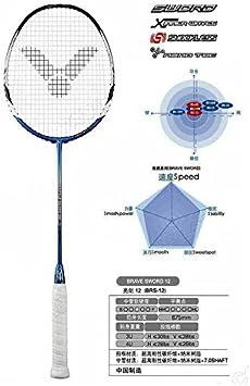Details about  /Badminton racket racquet VICTOR BRAVE SWORD 12/&12L High Quality Line completion