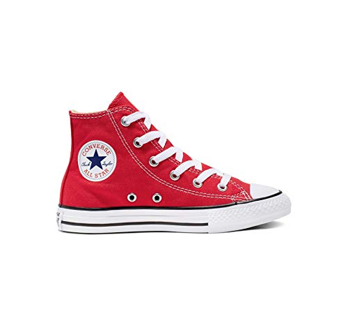 (Converse Clothing & Apparel Chuck Taylor All Star High Top Sneaker, red, 13 M US Little Kid)
