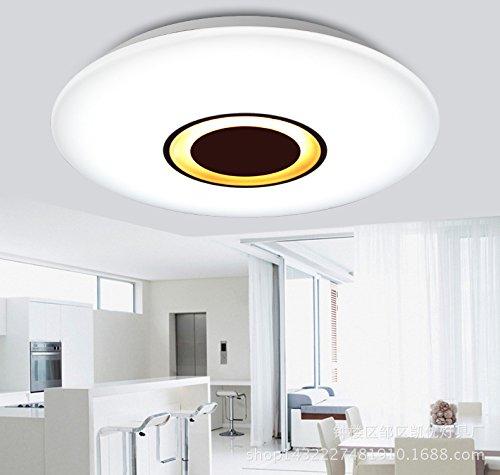 wawzw LED de deckenlampe - Lámpara de techo para baño de ...