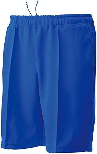 トレーニング ハーフ パンツ 吸汗 速乾 ジャージ ブルー P1500-03 ブルー