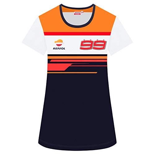 2019 Jorge Lorenzo #99 Ladies T-Shirt Womens Repsol Honda MotoGP Merchandise