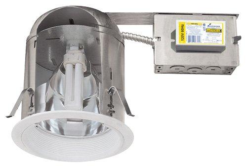 """Elco Lighting EL27RHE13ICA 6"""" Vertical CFL Remodel Downlight"""