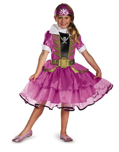 Pink Ranger Super Megaforce Girls Costumes (Disguise Saban Super MegaForce Power Rangers Pink Ranger Tutu Prestige Girls Costume, X-Small/3T-4T)