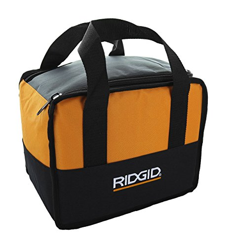 Ridgid Genuine OEM Soft-Sided Heavy Duty Contractor's Tool Bag for Drills or Impact Drivers (12 Inches x 10 Inches x 8 Inches) (Carrying Drill Case)