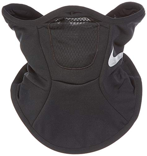 Nike Squad Snood (S/M, Black/Silver) (Face Mask Nike)