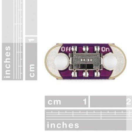 Puuli 20 PCS LilyPad Slide Switch AYZ0202
