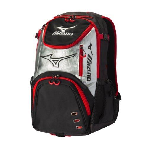 Mizuno Pro Batpack B00W76ON0S ブラック/レッド ブラック/レッド