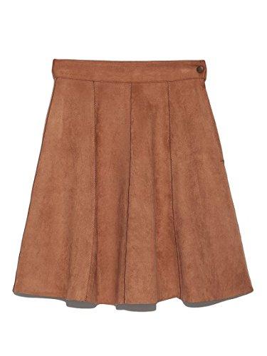 Amazon | Lily Brown(リリーブラウン)ヒートカットフレアスカート | スカート 通販