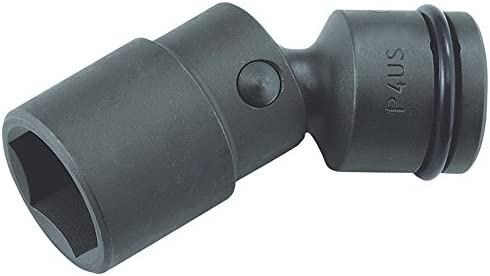 水戸工機 ユニバーサルソケット 6角 P4US17 S:17mm×全長:79mm×1/2インチ インパクトレンチ用