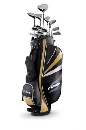 Callaway Strata Plus Men's Complete Golf Set with Bag, 18-Piece