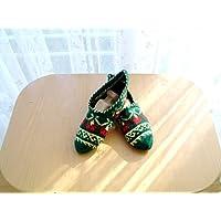 Handmade slippers, crochet slippers, wool slippers, Woman slippers, cozy, home slippers, gift for friend, warm slippers