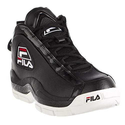 Fila Mens 96 Basketball Shoe Black 10.5