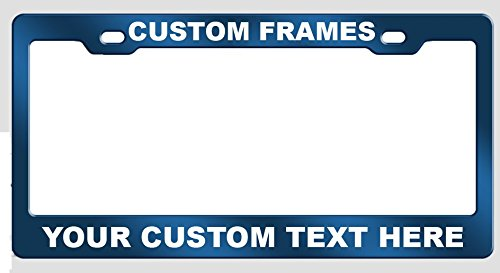 Custom Aluminum License Plate - 2