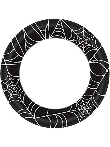 Halloween~Spider Web Paper Plate~40 Count~10