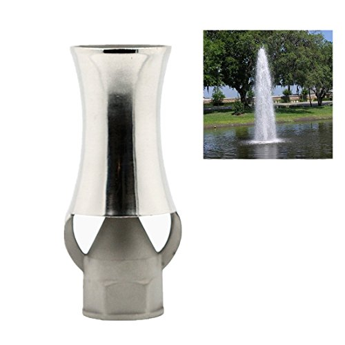 NAVAdeal DN25 1'' Stainless Steel Ice Tower Cascade Cedar Water Fountain Nozzle Spray Pond Sprinkler Head by NAVA