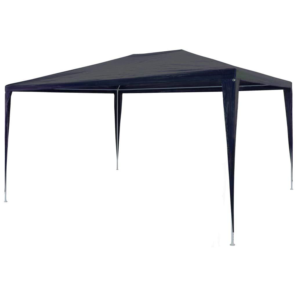 3 x 4 m PE//Telaio in Acciaio//Blu tidyard Tenda a Vela Impermeabile Rettangolare Protezione Antivento e UV per Giardino//Terrazza//Campeggio