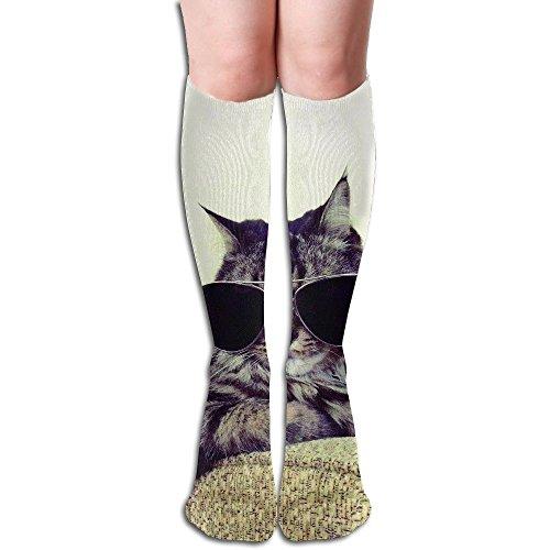 Cool Kitten Cat In Sunglasses Mens Socks Womens Socks - Kitten Sunglasses In