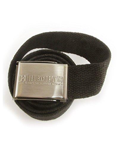 Hemp Scout Belt 1.5″ (Black)