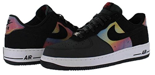 NIKE Air Force 1 Comfort Hologram Mens Basketball Shoes 599456-001 Anthracite Black 10 M US e0z3M9