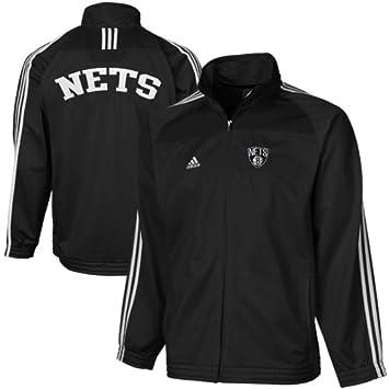 adidas Redes de Brooklyn NBA Baloncesto Juventud, Chaqueta de ...