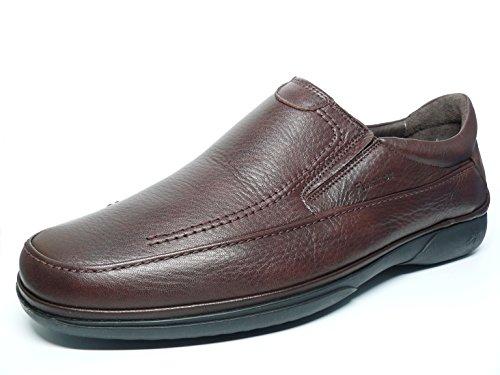 Fluchos Men's Loafer Flats Brown 9ZivK