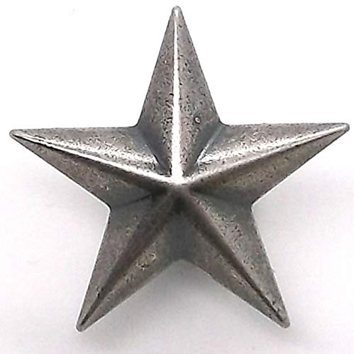 OutletBestSelling Star 3D Line 24 Decorative Snap Cap Antique Nickel 1