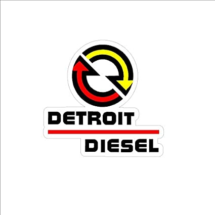 amazon com detroit diesel sticker decal small nhra imca usra ntpa rh amazon com Caterpillar Logo Caterpillar Logo