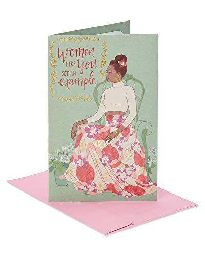 American Greetings Women Like You Mother's Day Greeting Card with Foil]()
