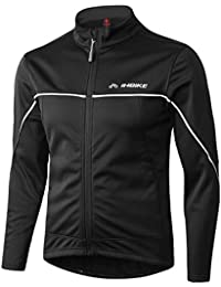 Winter Men's Windproof Thermal Cycling Running Jacket