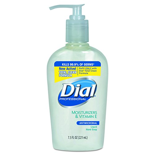 - Dial Professional 84024 Liquid Dial Antimicrobial Soap With Moisturizers Decorative Pump 7.5 Oz. (Case of 12)