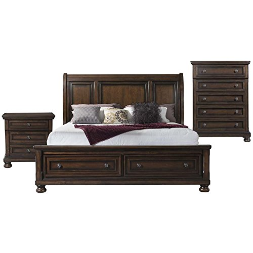 Picket House Furnishings Kingsley 3 Piece King Storage Bedroom Set (Furniture Kingsley Bedroom)
