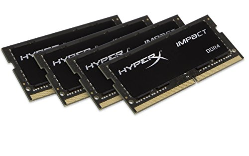 Kingston Technology Hyperx Impact 32Gb Kit  4X8gb  2133Mhz Ddr4 Cl14 260 Pin Sodimm For Laptop Hx421s14ibk4 32