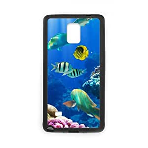 SYYCH Phone case Of Mysterious underwater world 1 Cover Case For samsung galaxy note 4