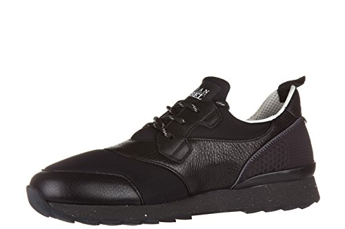Hogan Rebel chaussures baskets sneakers homme en cuir r261 3d noir