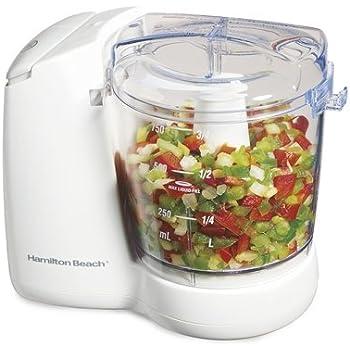 Hamilton Beach 72600 Fresh Chop 3-Cup Food Chopper