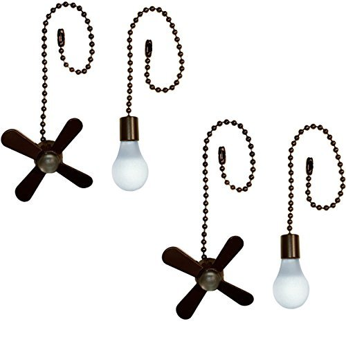 Harbor Breeze Ceiling Fan Pull Chain (2 Pack, Bronze)