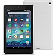 """Fire HD 6 Tablet, 6"""" HD Display, Wi-Fi, 16 GB - Includes Special Offers, White (Previous Generation - 4th)"""