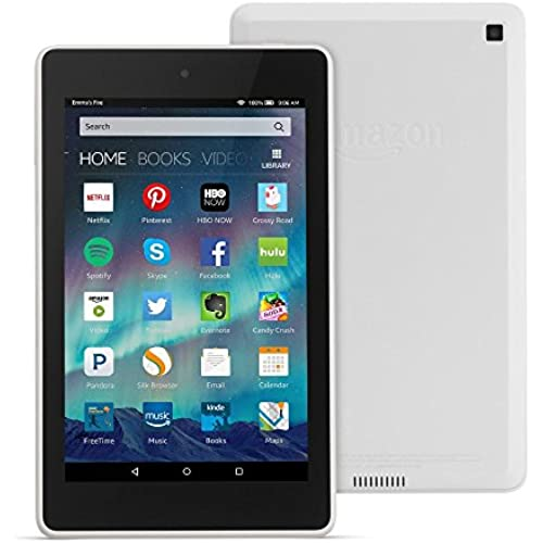 Fire HD 6 Tablet, 6 HD Display, Wi-Fi, 8 GB - Includes Special Offers, White Coupons
