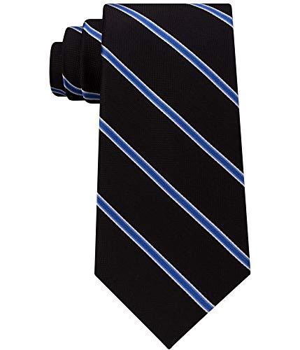 Club Room Men's Collegiate Stripe Silk Tie (Navy, ONE SIZE) Club Room Mens Silk Tie